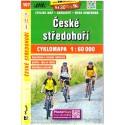 SHOCart 107 České středohoří 1:60 000 cykloturistická mapa
