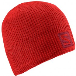 Salomon Logo Beanie matador-x 366851 unisex pletená čepice