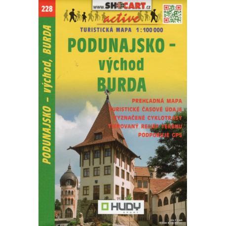 SHOCart 228 Podunajsko - východ, Burda 1:100 000