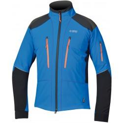 Direct Alpine Summit 3.0 blue/orange pánská softshellová bunda Soft Shell 4way Tex