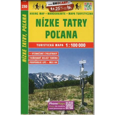 SHOCart 230 Nízké Tatry, Poľana 1:100 000