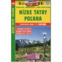 SHOCart 230 Nízké Tatry, Poľana 1:100 000 turistická mapa