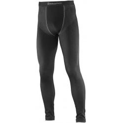 Salomon Primo Warm Tight Seamless M black 382879 pánské spodky dlouhá nohavice