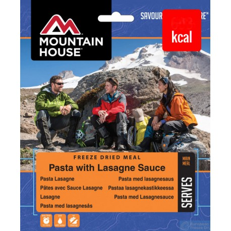 Mountain House Lasagne s hovězím masem v sýrové omáčce 2 porce (1)