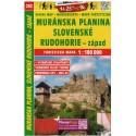SHOCart 232 Muránska planina, Slovenské Rudohorie - západ 1:100 000 turistická mapa