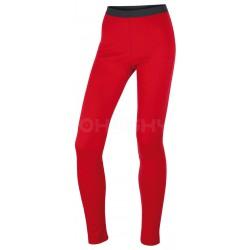 Husky Merino 100 Pants L červená dámské spodky dlouhá nohavice Merino vlna