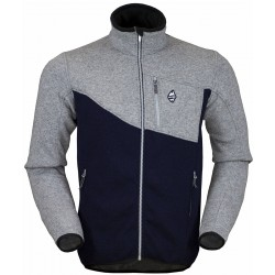 High Point Skywool 2.0 Sweater grey/dark blue pánský vlněný svetr Tecnowool