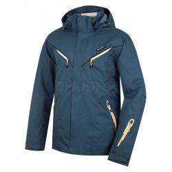 Husky Wender tmavě modrá pánská nepromokavá zimní lyžařská bunda HuskyTech 20000