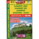 SHOCart 233 Slovenský kras, Sl. ráj, Sl. Rudohorie - východ 1:100 000 turistická mapa