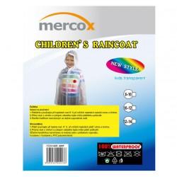 Mercox Frog Junior transparent dětská zapínací pláštěnka