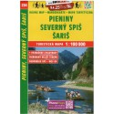 SHOCart 234 Pieniny, Severný Spiš, Šariš 1:100 000 turistická mapa
