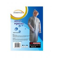 Mercox pláštěnka celopropínací transparentní