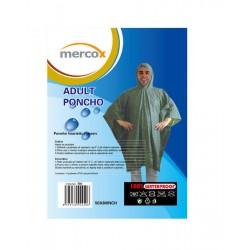 Mercox Poncho zelené turistické pončo
