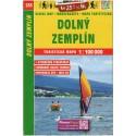 SHOCart 235 Dolný Zemplín 1:100 000 turistická mapa