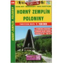 SHOCart 236 Horný Zemplín, Poloniny 1:100 000 turistická mapa