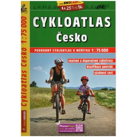 SHOCart Česko 1:75 000 cykloatlas