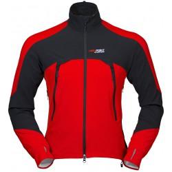 High Point Embrace 2.0 red/black unisex softshellová bunda Schoeller Softshell WB400-3XDRY
