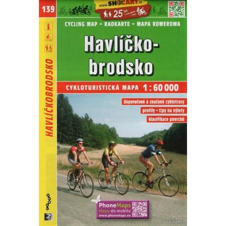 SHOCart 139 Havlíčkobrodsko 1:60 000