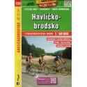SHOCart 139 Havlíčkobrodsko 1:60 000 cykloturistická mapa