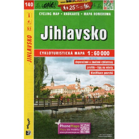 SHOCart 140 Jihlavsko 1:60 000