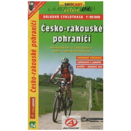 SHOCart Česko-rakouské pohraničí 1:90 000 cykloprůvodce