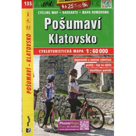 SHOCart 135 Pošumaví, Klatovsko 1:60 000