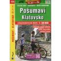 SHOCart 135 Pošumaví, Klatovsko 1:60 000 cykloturistická mapa
