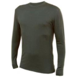 Jitex BoCo Kven 932 TSS tmavě khaki pánské triko dlouhý rukáv Merino vlna