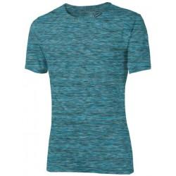 Progress Melis tyrkysový melír pánské triko krátký rukáv