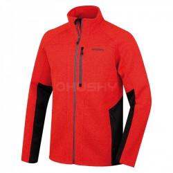 Husky Alan M červený pánský sportovní svetr