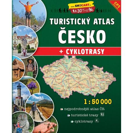 SHOCart Česko 1:50 000 turistický atlas