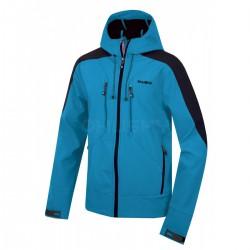 Husky Sevan modrá pánská softshellová bunda Extend-Pro Softshell 10000