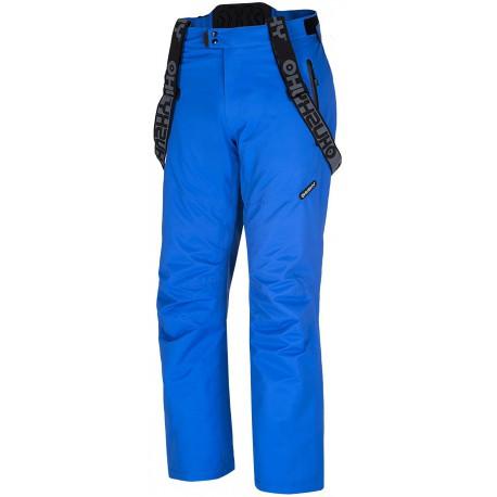 Husky Meng modré pánské nepromokavé zimní lyžařské kalhoty HuskyTech 20000