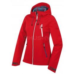 Husky Sevan L červená dámská softshellová bunda Extend-Pro Softshell 10000