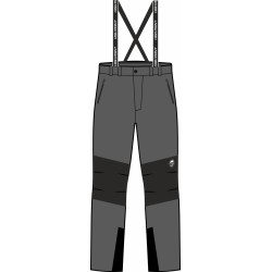 High Point Teton 3.0 dark grey pánské nepromokavé kalhoty BlocVent 2L DWR