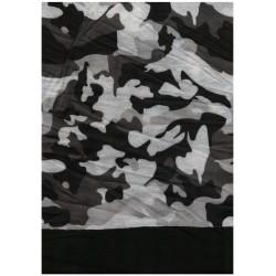 Trekmates Choob Polar Camouflage black zateplený multifunkční šátek1