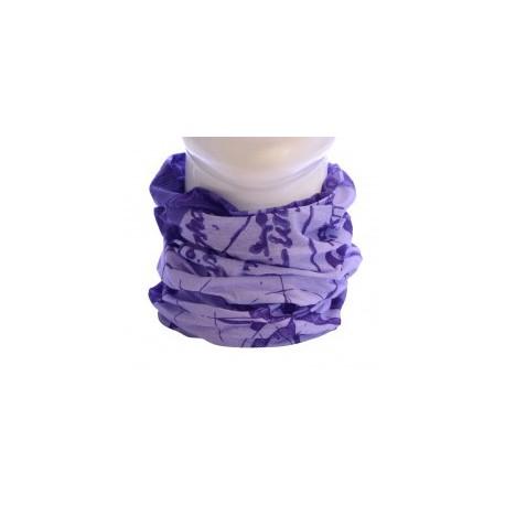 Trekmates Choob Compass Lilac multifunkční šátek