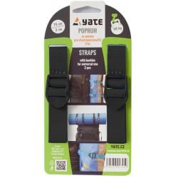 Yate kompresní popruh se sponou 2x75 cm černá