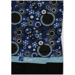 Trekmates Choob Polar Gears blue zateplený multifunkční šátek