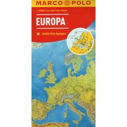 Marco Polo Evropa 1:2 500 000 automapa