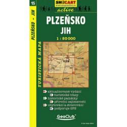 SHOCart 15 Plzeňsko jih 1:50 000