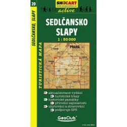SHOCart 20 Sedlčansko, Slapy 1:50 000