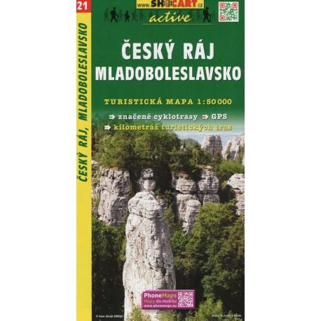 SHOCart 21 Český ráj, Mladoboleslavsko 1:50 000