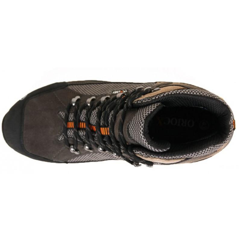 ... OriocX Candanchu OCX2Dry gris unisex nepromokavé trekové boty (3) ... 444f7285b7f