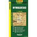 SHOCart 22 Nymbursko 1:50 000 turistická mapa