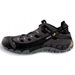 OriocX Herce gris pánské kožené outdoorové sandály podrážka