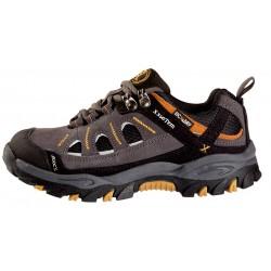 OriocX Tirgo Kid OCX2Dry gris nino dětské nízké nepromokavé boty