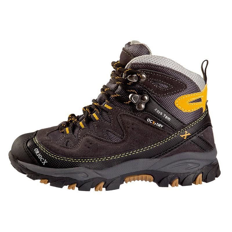 OriocX Najera Kid OCX2Dry gris nino dětské trekové nepromokavé boty d39026bbd1