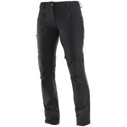 Salomon Wayfarer Zip Pant W black 392980 dámské odepínací turistické lehké kalhoty1
