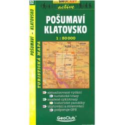 SHOCart 32 Pošumaví, Klatovsko 1:50 000